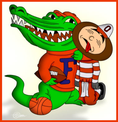 Florida beats Ohio St. AGAIN!